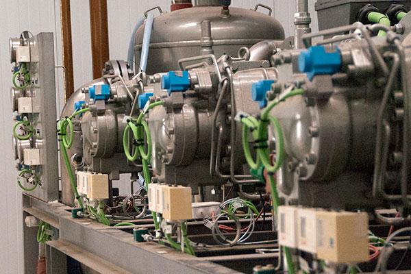 Refrigeración NH3 para un gran centro logístico