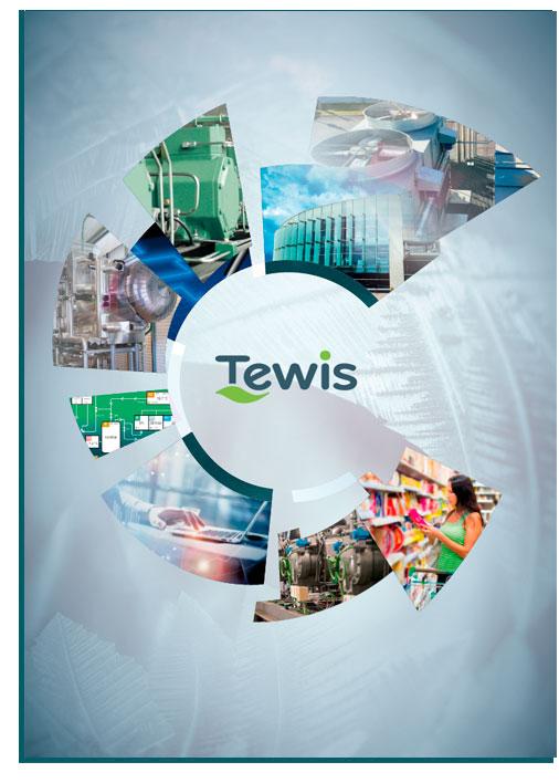 TEWIS tríptico corporativo